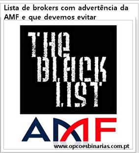 Lista de brokers com advertência da AMF e que devemos evitar