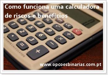 Como funciona uma calculadora de riscos e benefícios