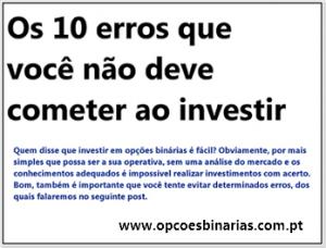 os-10-erros-que-voce-nao-deve-cometer-ao-investir