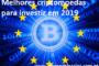 Melhores criptomoedas para investir em 2019